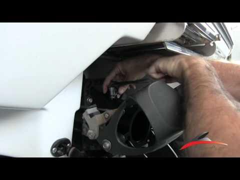 JetBoatPilot Single Engine Thrust Vector Install Chaparral SeaDoo Scarab Glastron