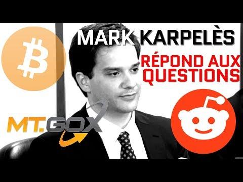 Mark Karpelès, l'ex-PDG de Mt.Gox, répond aux questions sur le subreddit de Bitcoin