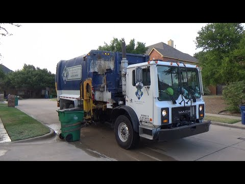 Waste Connections: Mack MR Labrie Automizer ASL