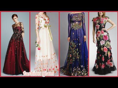 elegant-designer's-embroidered-floor-length-evening-maxi-dresses