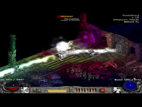 Median XL Melee Stormzon Part 14: Trial Of Knowledge in 1.3