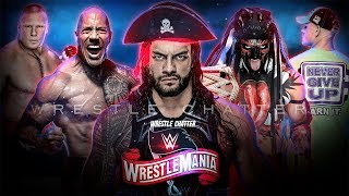 5 BIGGEST Matches REVEAL Wrestlemania 36 Reigns Vs Rock WWE Wrestlemania 36 Match Card Predictions