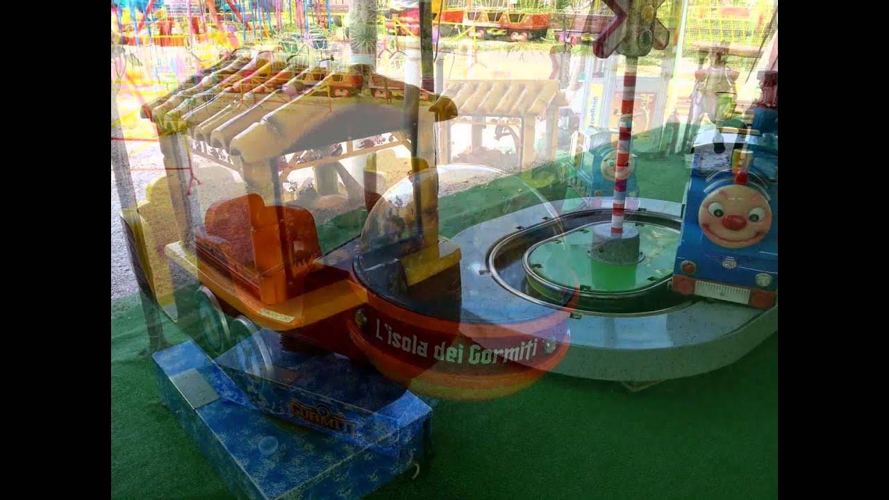 Conosciuto Bibo Babo Luna Park Il Parco giochi di Centocelle Roma - YouTube HV53