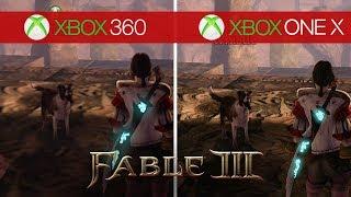 Fable 3 Comparison - Xbox 360 vs. Xbox One X