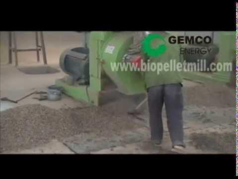 Installation of Biomass Pellet Plant - GEMCO Biomass Pellet Mill
