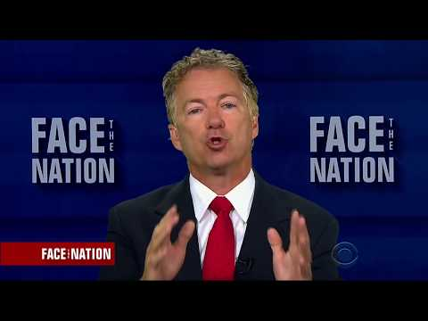 "Sen. Rand Paul on ""Face the Nation"" - July 17, 2017"
