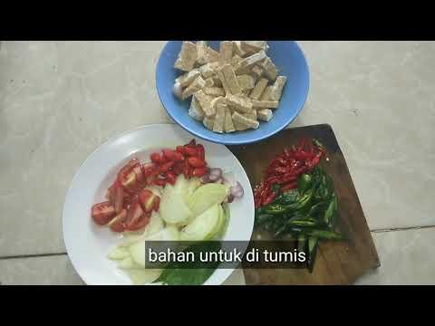 cara-membuat-masakan-tumis-jantung-ayam-tempe-kecap