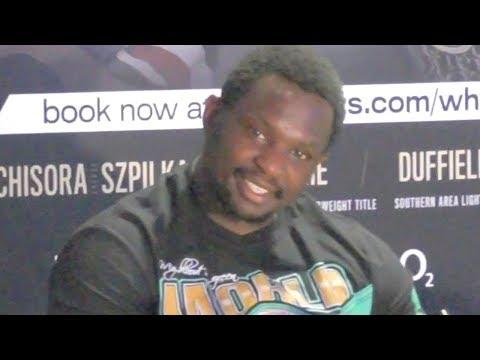 Dillian Whyte v Oscar Rivas FULL Post-Fight press Conference | Matchroom Boxing