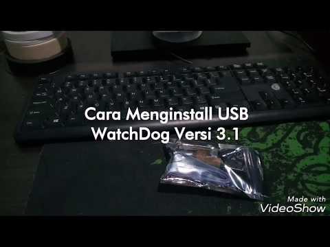 Cara Install USB Watchdog Versi 3.1