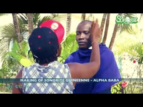 Making of Sonorite Guineenne - Alpha Baba