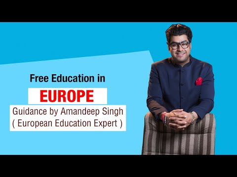 Free Education in Europe Guidance by Amandeep Singh ( European Education Expert )