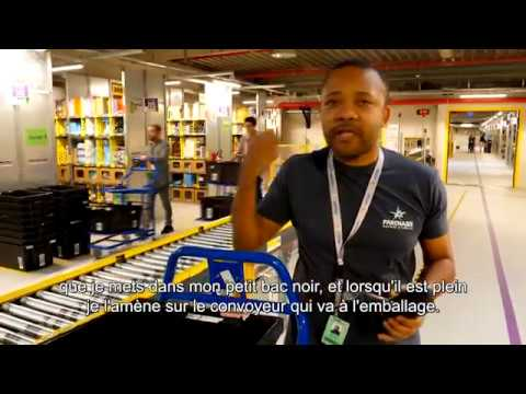 Les témoignages Partnaire - Serge, en poste chez Amazon France !