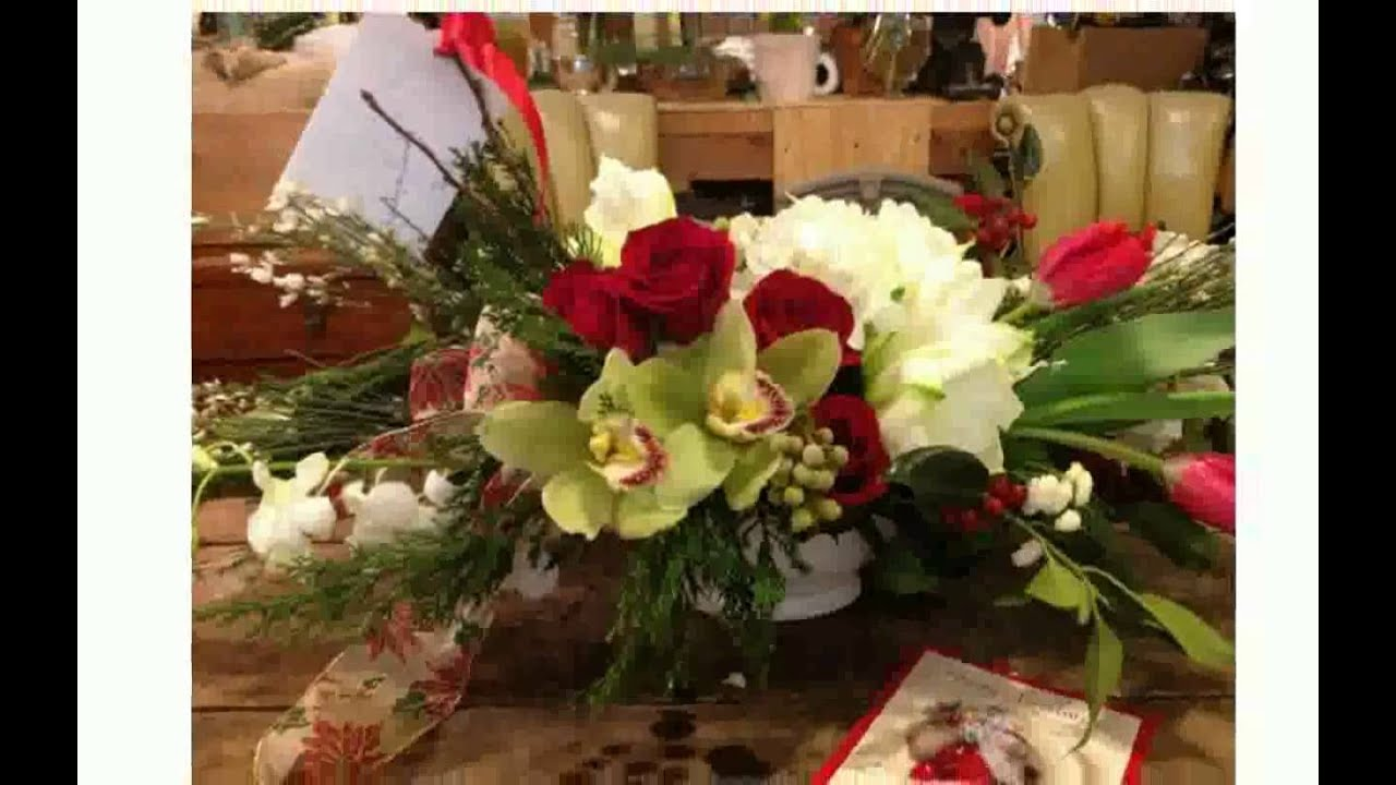 Christmas Table Arrangements   YouTube
