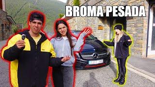 EL COCHE DE WIDLER HA DESAPARECIDO😲😱 **broma pesada**😰