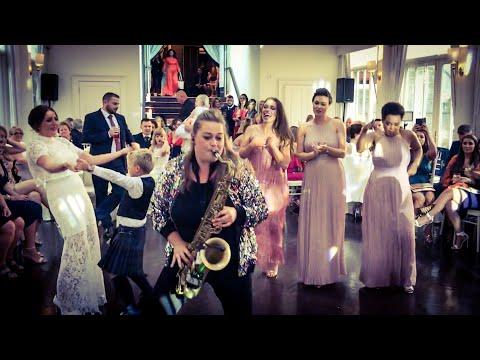 Wedding Saxophone Player Scotland. Drinks Reception / Evening Reception - Marshali Scott Promo.