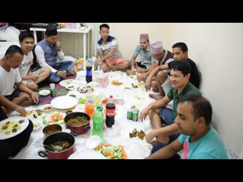 Bada Dashain 2073 on Fairmont the palm Accomodation,dubai ,uae