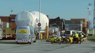 Transport turbiny gazowej do Elektrowni Włocławek ORLEN