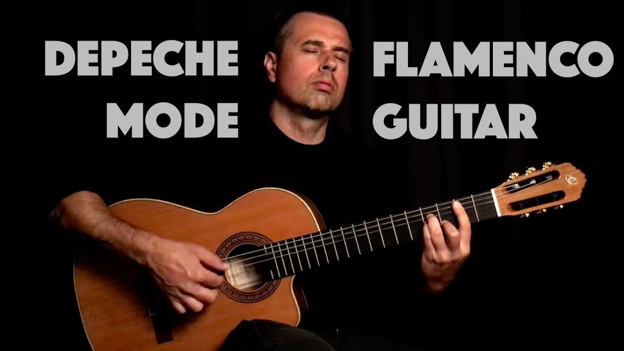 "DEPECHE MODE ""Enjoy the Silence"" Ben Woods - Ortega BWSM2 Flamenco guitar"