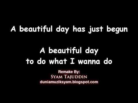 Instrumental Remake - A Beautiful Day (Kid Song) with lyrics