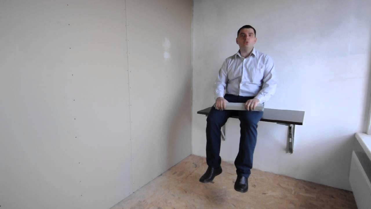 Как закрепить столешницу на письменном столе | Мастер Костя - YouTube