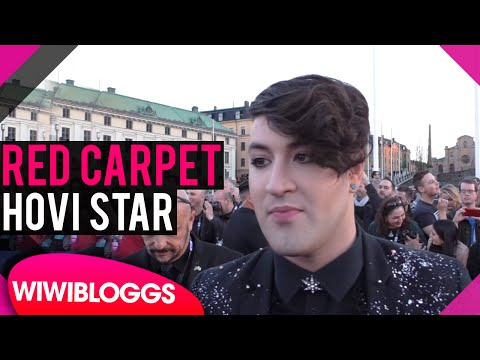 Hovi Star Israel @ Eurovision 2016 red carpet | wiwibloggs