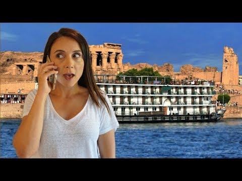 TIVE QUE ACORDAR TODOS DE MADRUGADA ! NAVIO CRUZEIRO NO EGITO| Travel and Share | Romulo e Mirella
