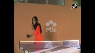 Afghanistan News - Afghan female table tennis players defy fear to chase champion dreams