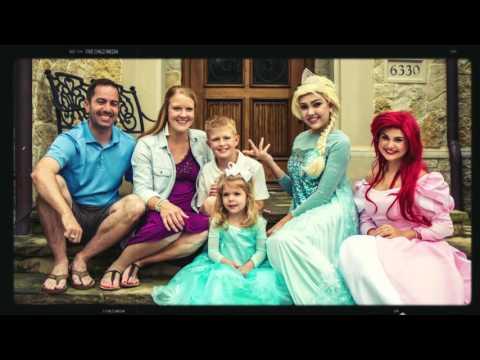 Princess Madelyn  North Texas MakeaWish Granter Jennifer Cooper