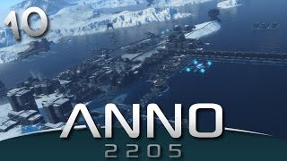ANNO 2205 Gameplay - Battle for Moon Elevator #10
