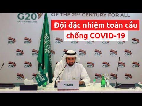 G20 sẽ thành lập một đội đặc nhiệm toàn cầu chống COVID-19 – PLO