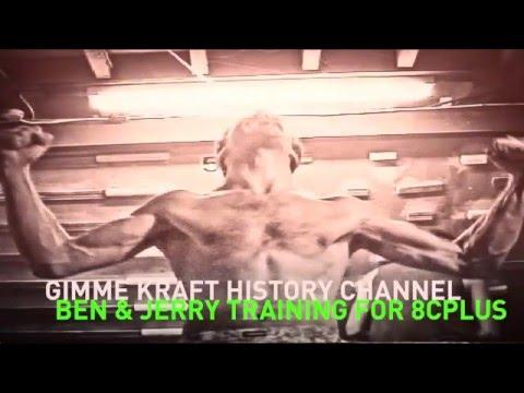 Gimme Kraft History Channel: Ben Moon & Jerry Moffatt training for 8c+