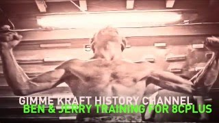 Gimme Kraft History Channel: Ben Moon & Jerry Moffatt training for 8c+