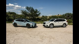 2019 Ascent: Introduction, On and Off road Driving, Crosstrek Comparison