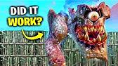 I Tried STOPPING Monster vs Robot Live Event! (Fortnite)