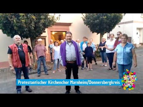 Der Kirchenchor Marnheim im Donnersbergkreis