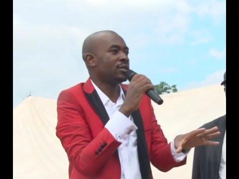 Nelson Chamisa addresses crowds in Chinhoyi  #263Chat