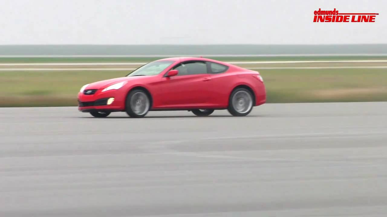 2011 Hyundai Genesis Coupe 3 8 R Spec Track Test Youtube