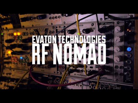 RF Nomad Shortwave Radio Eurorack Module Demo
