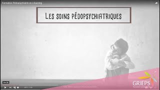 Formation Pédopsychiatrie en e-learning