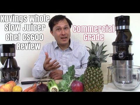 Kuvings Whole Slow Juicer Chef CS600 Commercial Grade Juicer