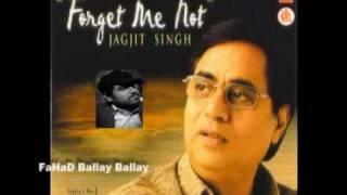 ABHI WOH KAMSIN Jagjit Singh Album FORGET ME NOT