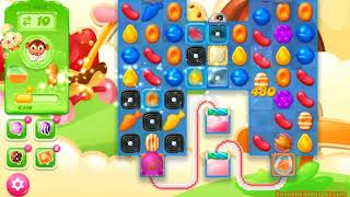 Candy Crush Jelly Saga Level 1400 (3 stars, No boosters)