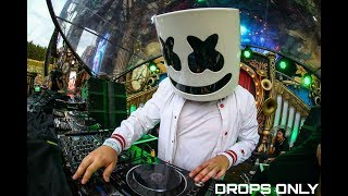 Marshmello - Drops Only | Tomorrowland 2017