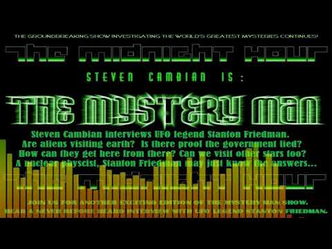 Mystery Man - The midnight hour show.