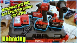 Milwaukee 2997-23PO M18 FUEL 3 Tool Combo PACKOUT Kit