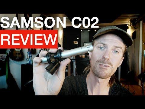 SAMSON C02 Microphone Review & audio examples