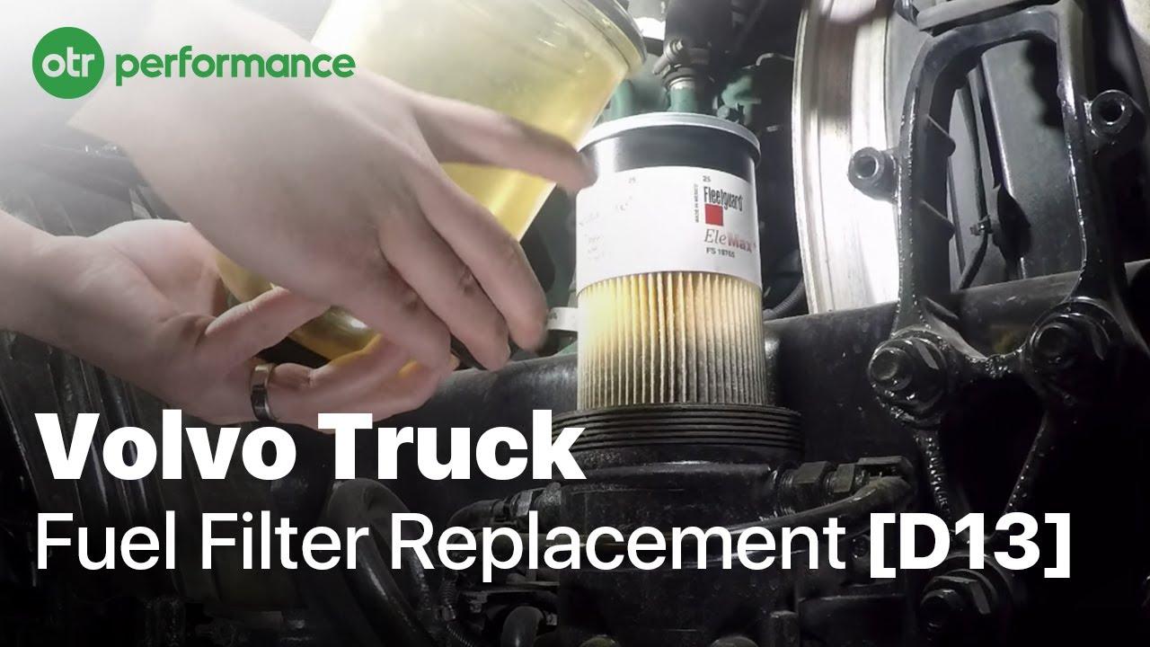medium resolution of volvo truck davco fuel pro 382 fuel filter how to otr performance
