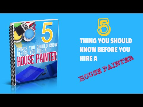 5 Things You Should Know Before Hiring A House Painter in Raleigh