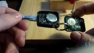 Update - Sender ZV Schlüssel geht wieder mal nicht Instandsetzen Reparatur R19 - komplett