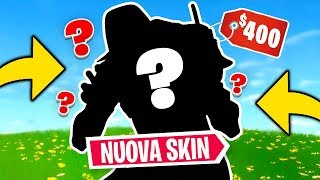 ARRIVEATA the NUOVA SKIN da '400 EURO'! Skin più COSTOSA di FORTNITE? SKULL TROOPER nello SHOP!